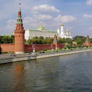 Kremlin from kamenny most