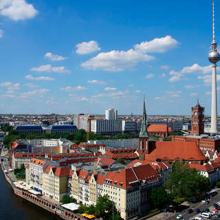 Berlin TV Tower panorama