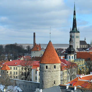 Tallin in winter