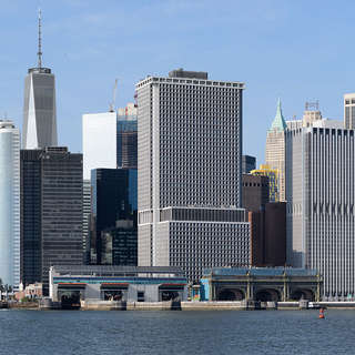 Lower Manhattan from Governors Island