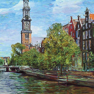 Amsterdam Prinsengracht canal