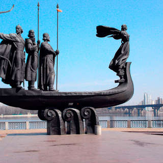 The Monument to the Founders of Kyiv