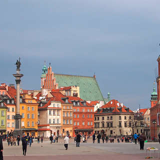 Warsaw, the old town
